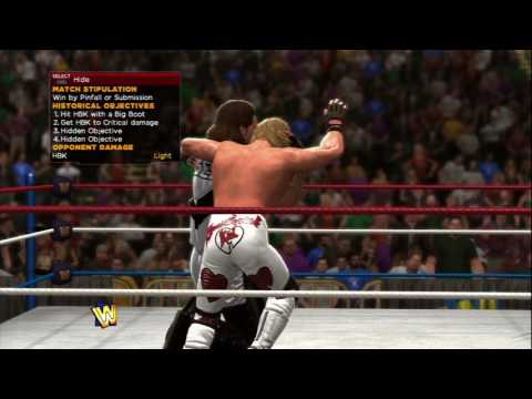 WWE 2K14 (PS3) Wrestlemania 11 (XI): Diesel Vs Shawn Michaels