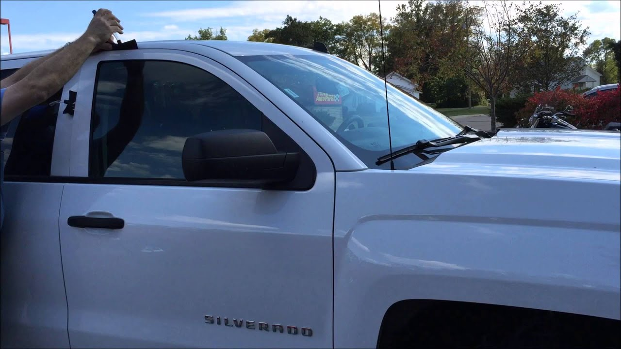 Amazing How To Unlock A Car: Chevrolet Silverado   YouTube