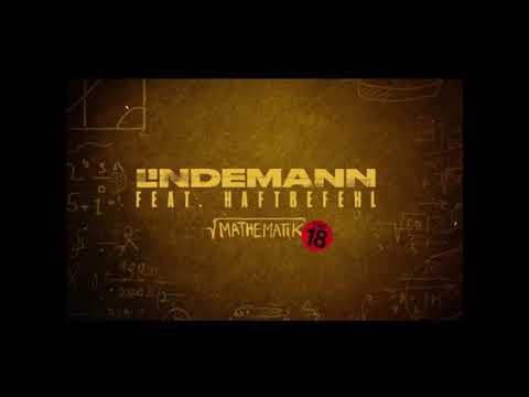 LINDEMANN - Mathematik (ft. Haftbefehl) Audio (Lyrics On Description)