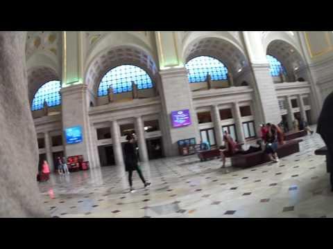 Inside Amtrak Washington DC Union Station 2016