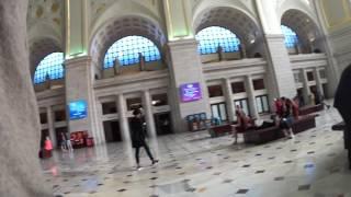 Inside Amtrak Washington DC Union Station
