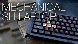 MSI GT80 Titan Gaming Notebook: Mechanical Keyboard + GTX 980M SLI