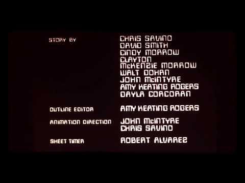 Dexter's lab crédits Number 6 season 3 2001 edición