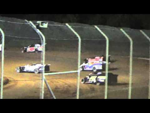 Ark La Tex Speedway Tootsie smith Limited modified heat 2 2015