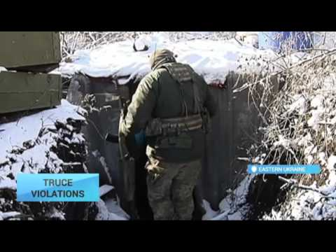 Ukraine Truce Violations Reported: Russian-separatist forces mount more than two dozen attacks