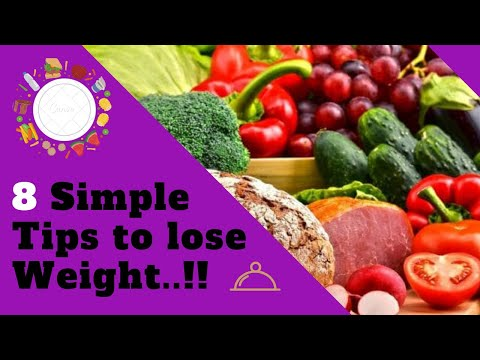 8-simple-weight-loss-tips