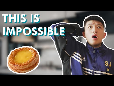 SPEAKING IN CANTONESE ONLY AND MAKING EGG TARTS (Mike goes Crazy) - 華裔一天只能講廣東話挑戰 - 做蛋撻