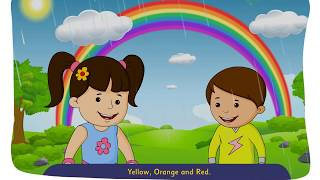 Rainbow...Violet, Indigo, Blue and Green...Rhyme