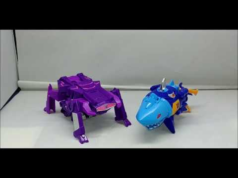 REVIEW - Sky Byte and Shockwave Cyberverse One Step Transformers Figures
