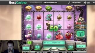 Super mega win in Eggomatic bonusgame