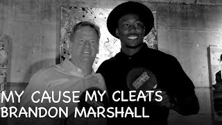 Brandon Marshall Hosts Ping Pong Tournament to Raise Awareness for Mental Health| My Cause My Cleats