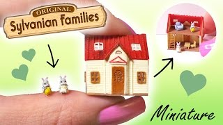Miniature Sylvanian Families Inspired Tutorial // Tiny Dollhouse