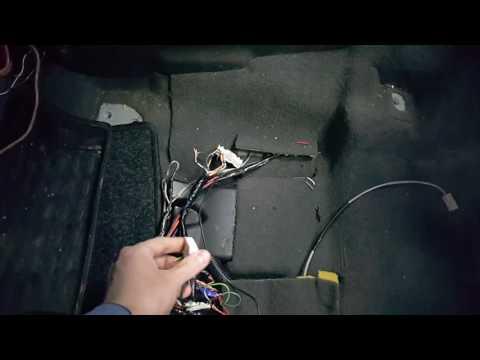 Nissan Pathfinder 2007  установка оборудования образца 2016 года