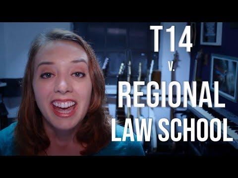 Where You Should Go To Law School   T14 V. Regional Law School!!