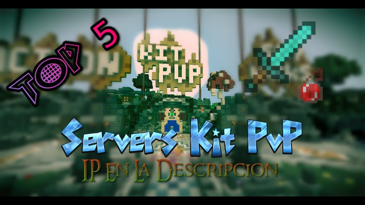 Top 5 Servers de Kit PvP Minecraft No Premium 1 8 1 9 YouTube