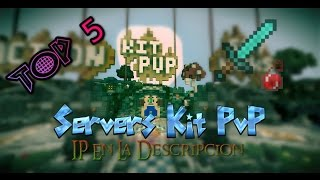 Top 5 Servers de Kit PvP Minecraft No Premium 1.8 1.9
