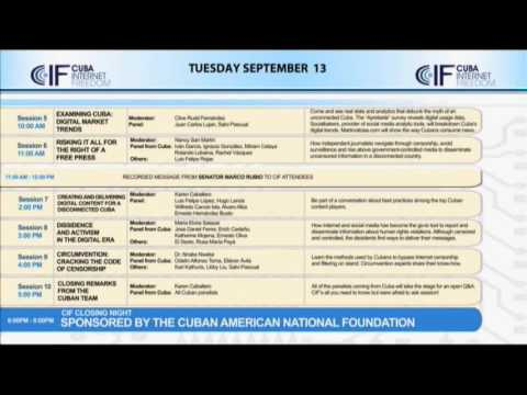Cuba Internet Freedom Conference - Day 2