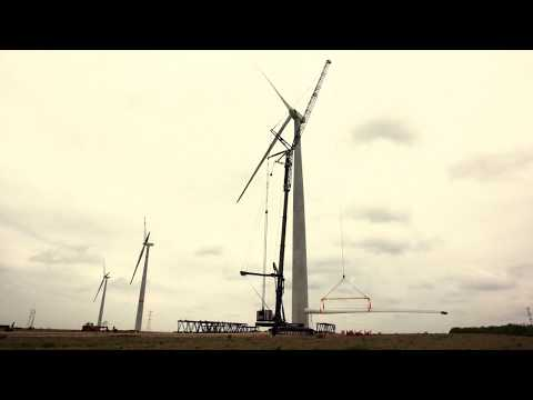 How do we install a wind turbine? Find out in 2 minutes | ACCIONA