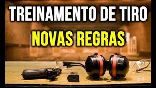 Treinamento com arma do SINARM -  Novas Regras (videoaula aberta)