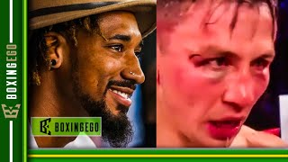 Demetrius Andrade EXPOSES Gennady Golovkin says GGG DUCKED fight DAZN WANTED