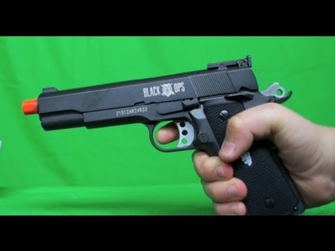 Ignite Black Ops 1911 Unboxing / Review / Shooting Test