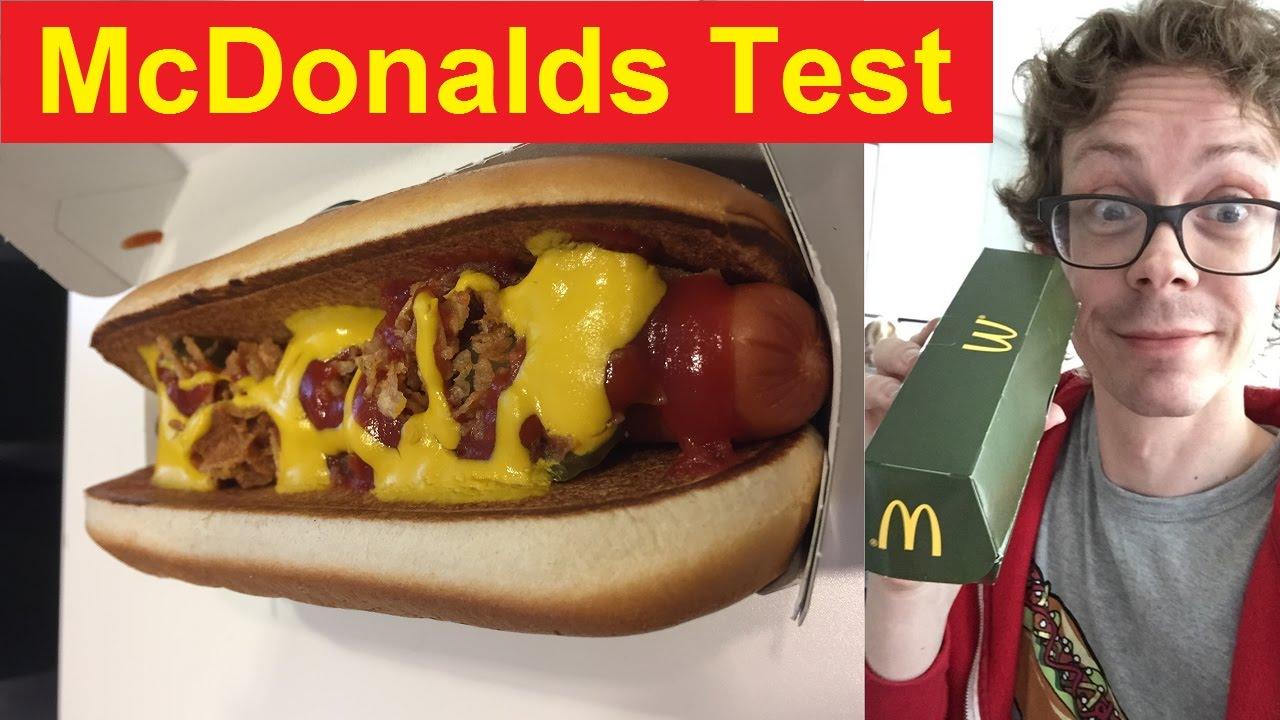 McDonalds Hot Dog im Test: Wo du den geheimen HotDog zum ...