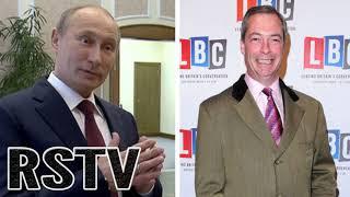 BOMBAZO; RSTV tenía Razón: Putin Ayudó al Partido UKIP en secreto para Apoyar el Brexit