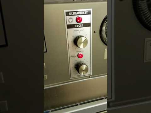Sigma Equipment Q-Lab QUV Accelerated Weathering Tester C3662
