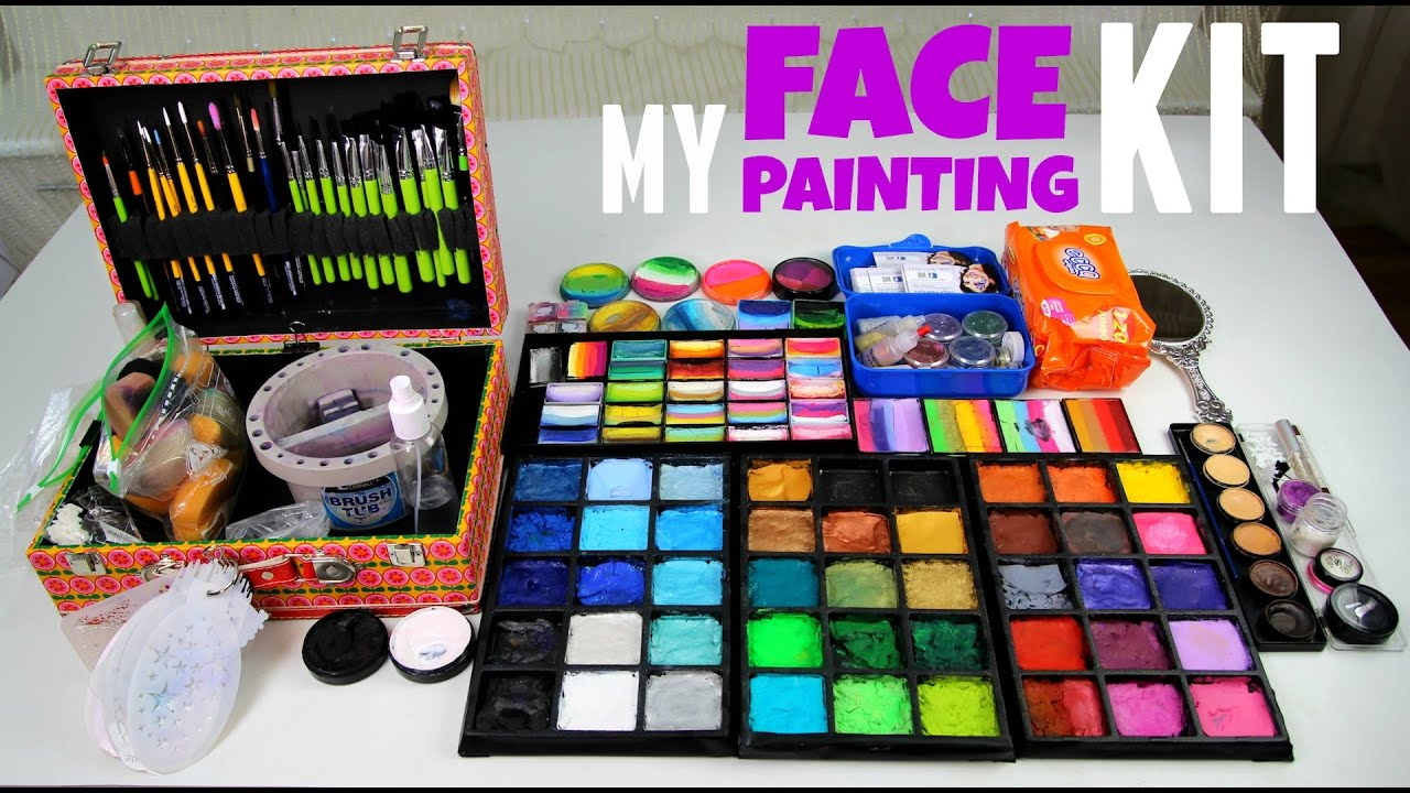 Face Paint Supplies Adelaide 9 Professional Face Painters Share How They Pack And Prepare Their