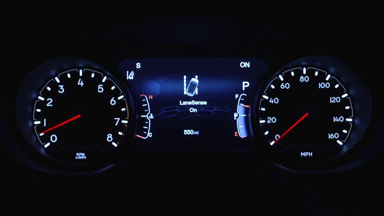 Lane Departure Warning Light 2018 Jeep Comp Mopar How To