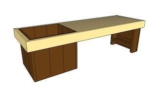 http://gardenplansfree.com/planter/planter-bench-plans/ SUBSCRIBE for a new DIY video almost every day! If you want to learn how