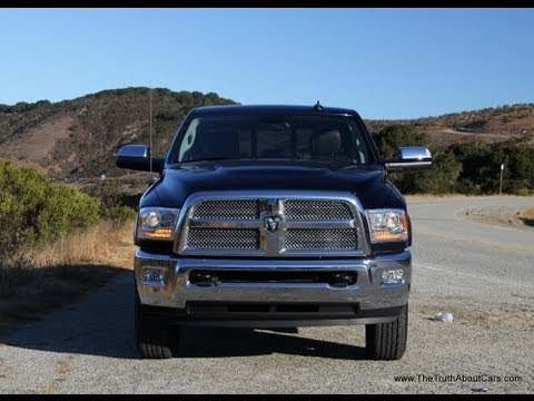 2013 RAM 3500 Heavy Duty Pickup Truck Review and Road Test