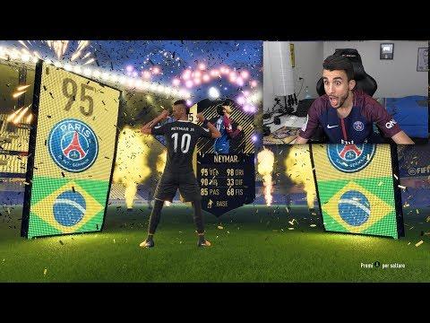 NEYMAR 95 SIF IN A PACK! L'HO TROVATOOO!! PREMI WEEKEND LEAGUE | PACK OPENING FIFA 18 [ITA]