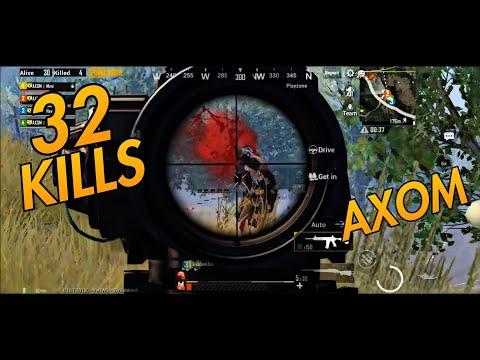 32 Kills | AXOM Clan | PUBG Mobile