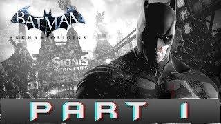Batman: Arkham Origins Part 1 Locate Black Mask Gameplay Walkthrough [PC]
