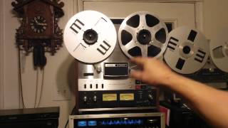 TEAC A6300 Reel to Reel Tape Deck. Dis-Assembled, Cleaned, Lubed, New Belts. Nice Deck. ZCUCKOO