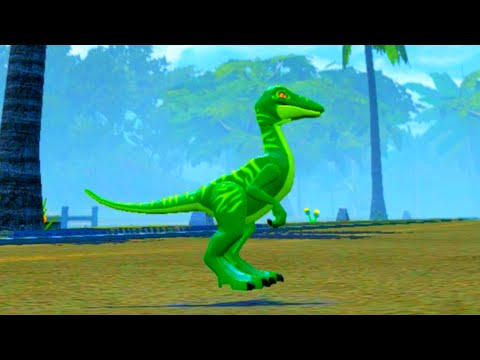 "LEGO Jurassic World Compsognathus ""Compy"" Free Roam Gameplay & Ability Showcase"