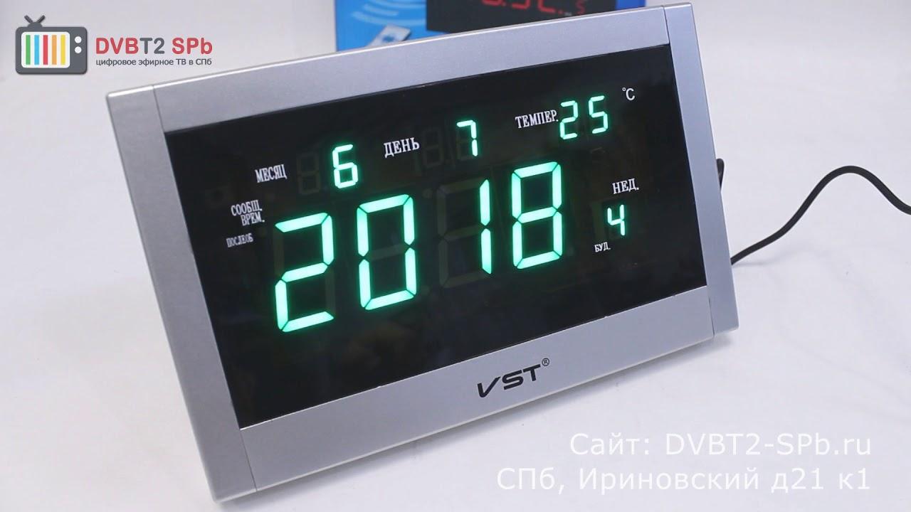 7ee189f236f9 VST 771T - обзор электронных часов - YouTube