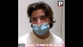 """Le 18:18 - Marseille : ces jeunes qui se font vacciner parce qu'ils n'ont """"pas le choix"""""""