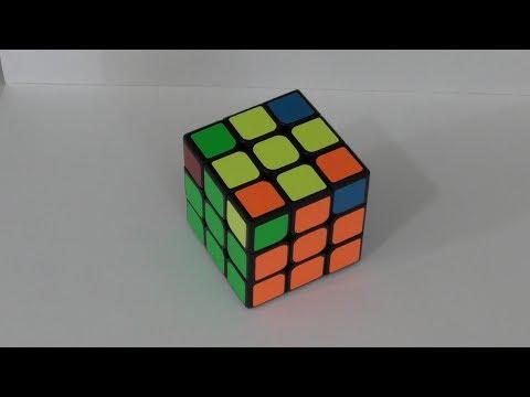 Rubik's Cube: Quatre Coins Jaunes Bien Placés Mais Mal Orientés