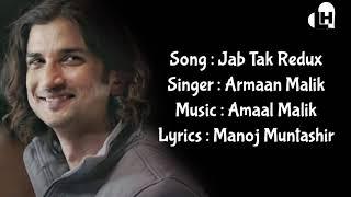 Jab Tak Redux Lyrics