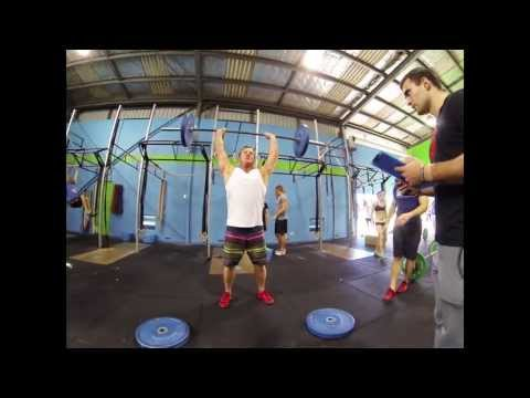 Cooee CrossFit takes on 13.4