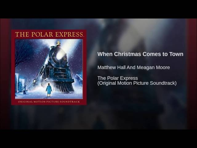 matthew hall when christmas comes to town lyrics genius lyrics - Meagan Moore When Christmas Comes To Town