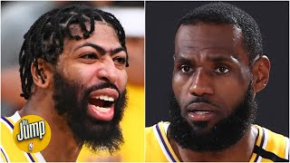 LeBron James or Anthony Davis: Who is more worthy of NBA Finals MVP? | The Jump