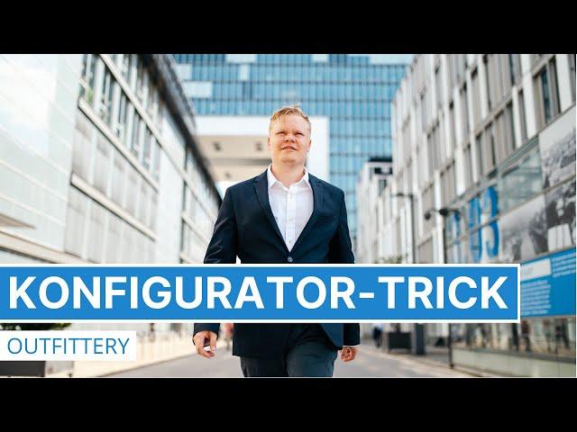 Outfittery - Der Konfigurator-Trick in Online-Shops - Psychologie im Marketing