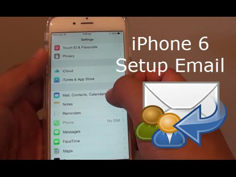 iPhone 6: How to Add a New Email Account