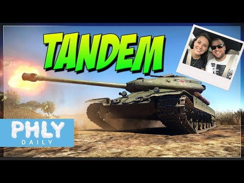 TANDEM Gameplay | 1 Drives 1 Shoots ft. Lola (War Thunder Gameplay)