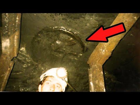 На глубине 1 км обнаружено колесо возрастом 300 миллионов лет. Самые необычные находки