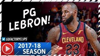PG LeBron James Full Highlights vs Bulls (2017.10.24) - 34 Pts, 13 Ast, CLUTCH!