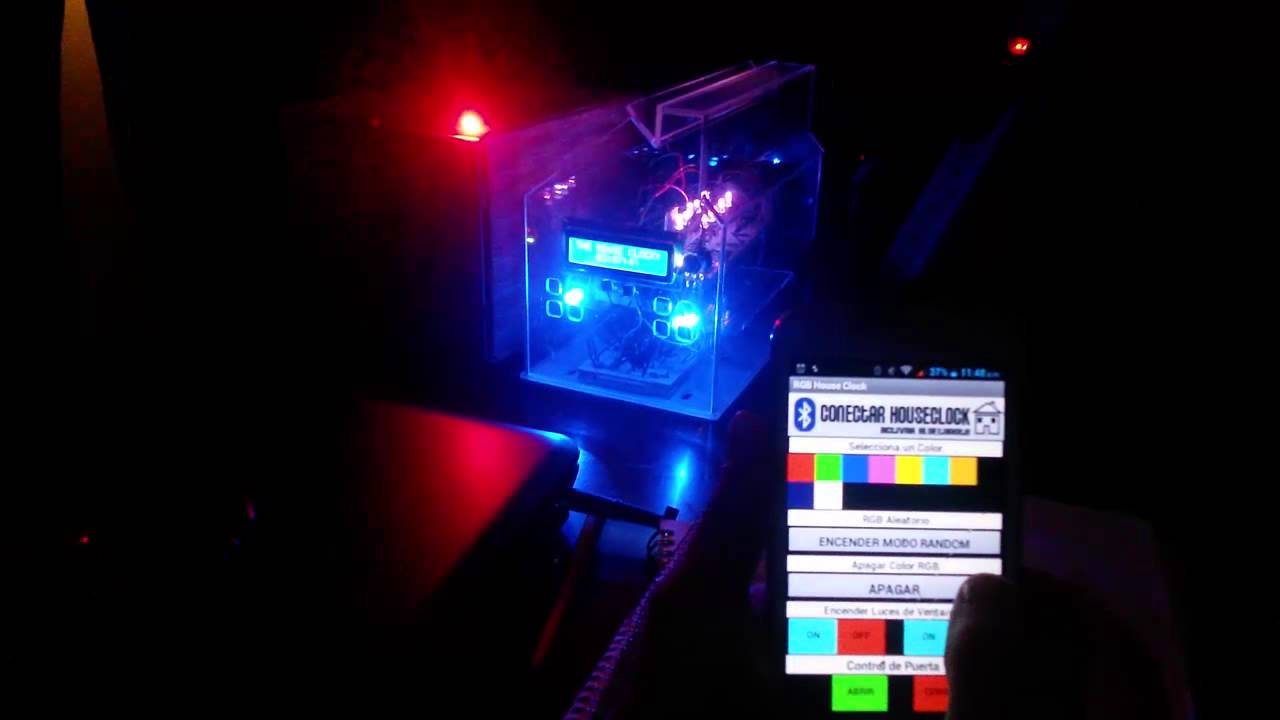 Arduino android leds rgb bluetooth youtube